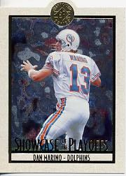 1995 SP Championship Playoff Showcase Die Cuts #PS12 Dan Marino front image