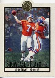 1995 SP Championship Playoff Showcase Die Cuts #PS18 John Elway