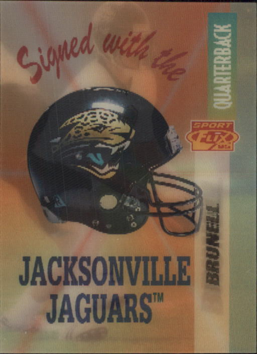 1995 Sportflix #104 Mark Brunell