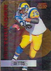 1995 Sportflix Rolling Thunder #8 Jerome Bettis