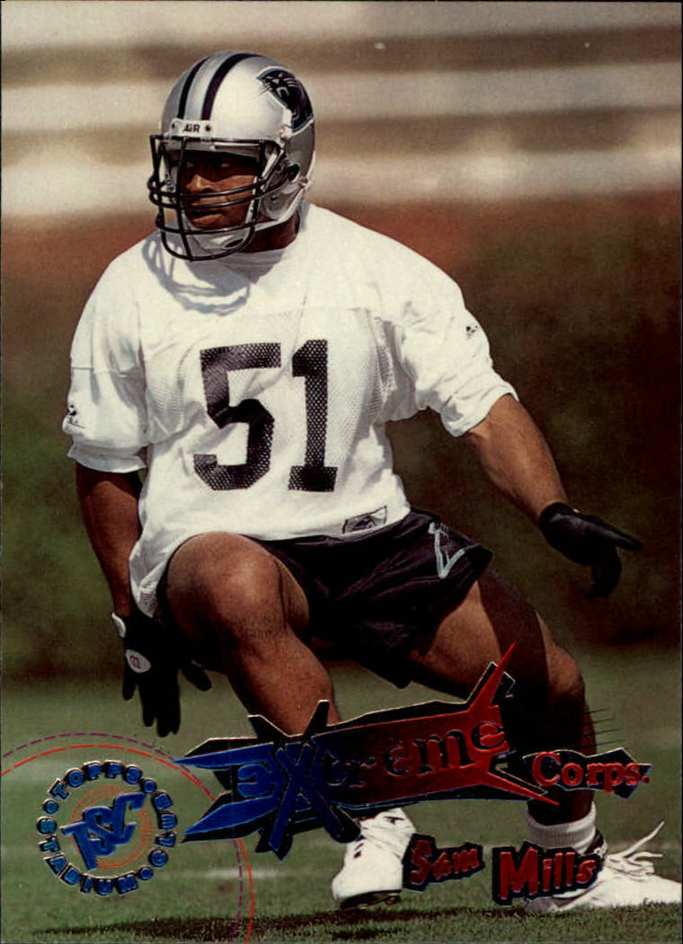 1995 Stadium Club #184 Sam Mills EC SP