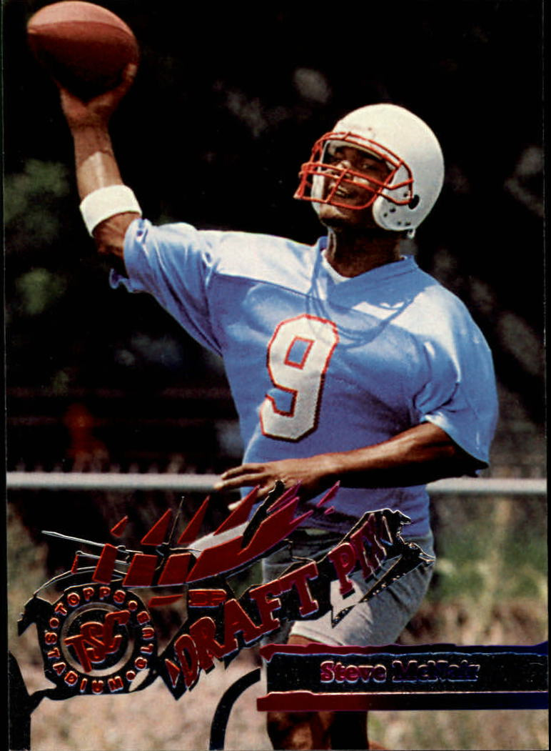 1995 Stadium Club #450 Steve McNair SP RC