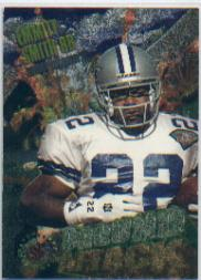1995 Stadium Club Ground Attack #G1 Emmitt Smith/Daryl Johnston