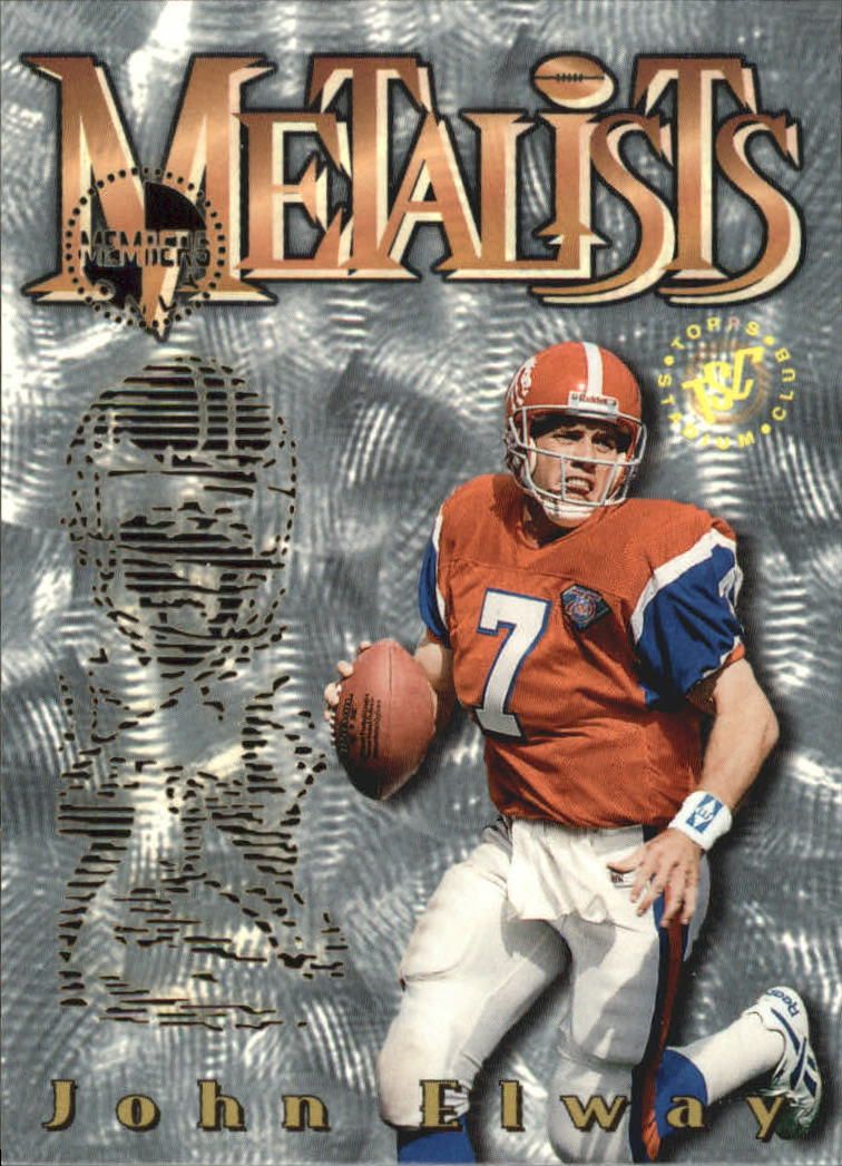 1995 Stadium Club Metalists #M3 John Elway
