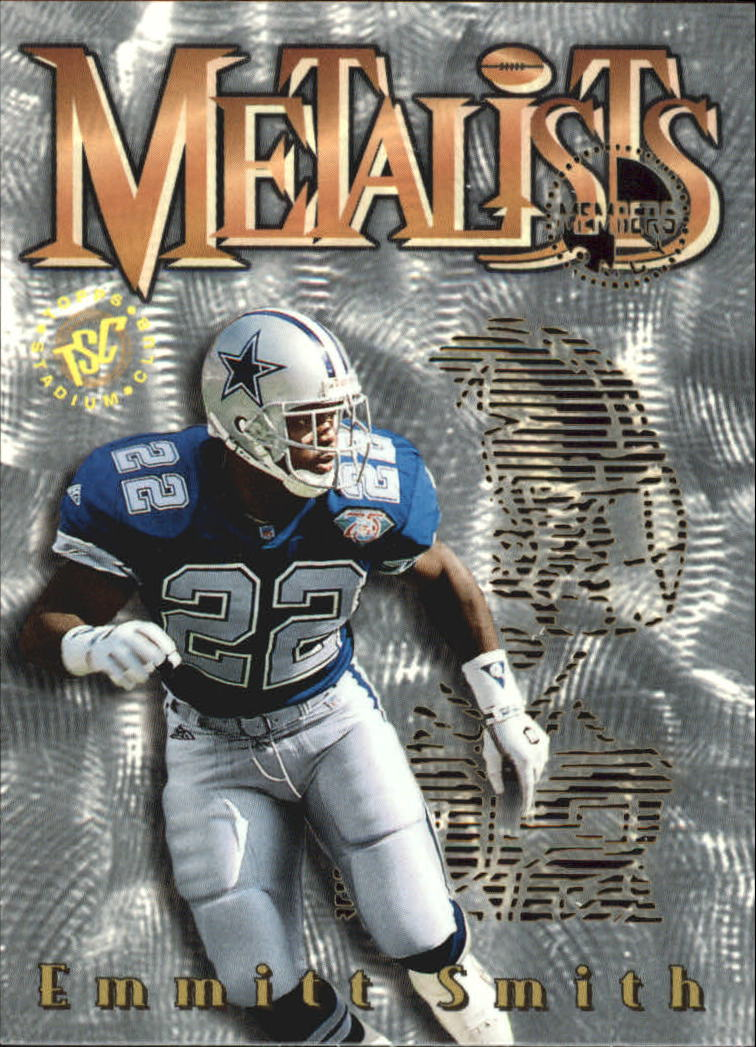 1995 Stadium Club Metalists #M5 Emmitt Smith