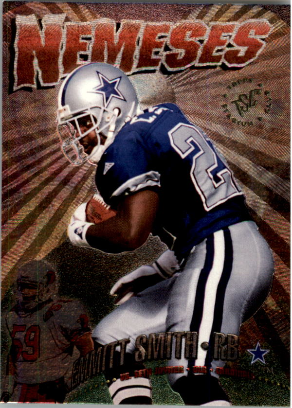 1995 Stadium Club Nemeses #N11 Emmitt Smith/Seth Joyner