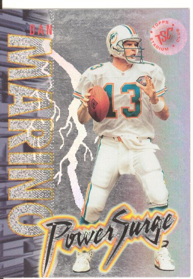 1995 Stadium Club Power Surge #PS1 Dan Marino