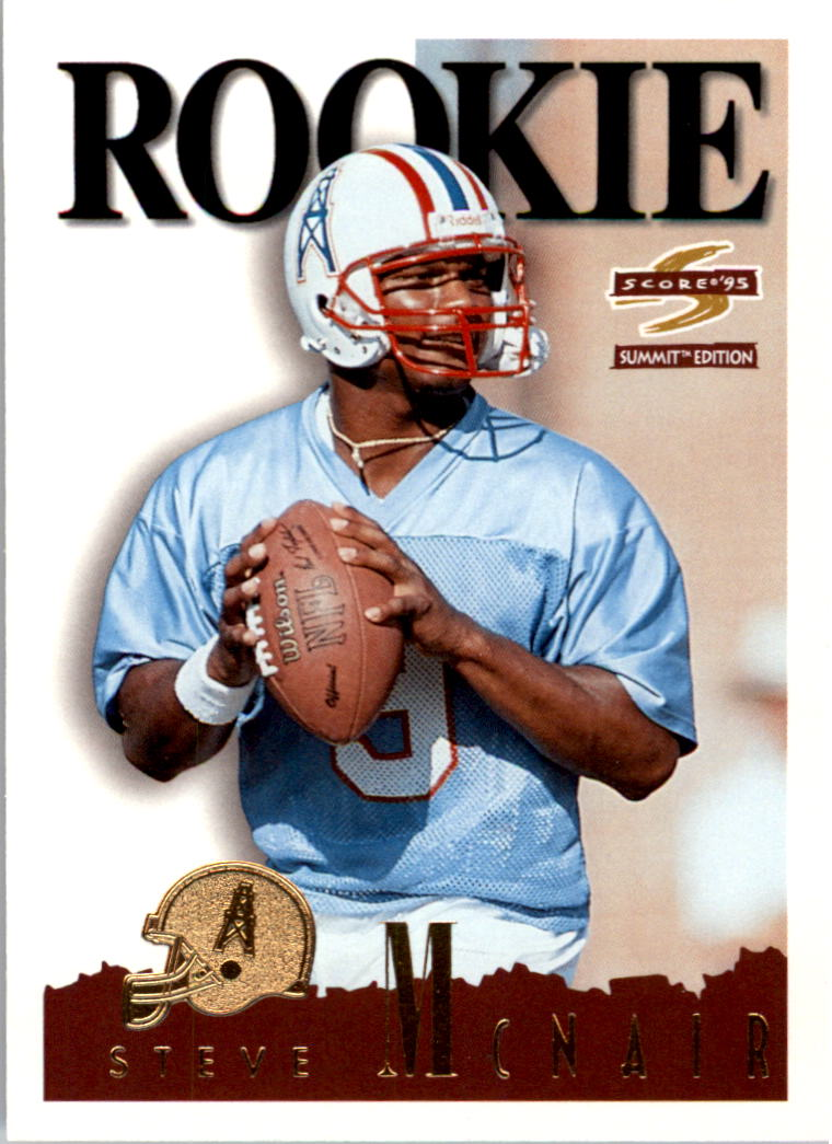 1995 Summit #152 Steve McNair RC