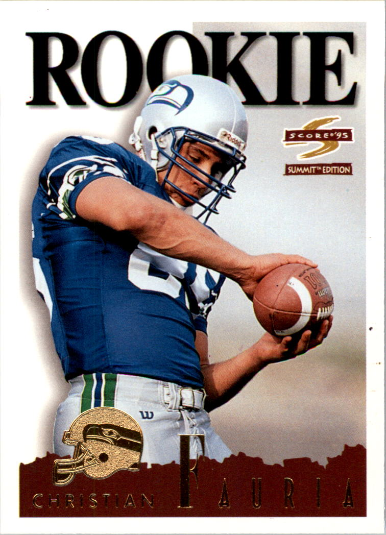 1995 Summit #162 Christian Fauria RC