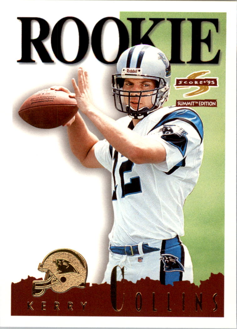 1995 Summit #170 Kerry Collins RC