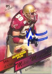 1995 Superior Pix Autographs #109 Mike Mamula/4000
