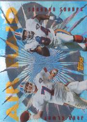 1995 Topps Air Raid #6 J.Elway/Sh.Sharpe
