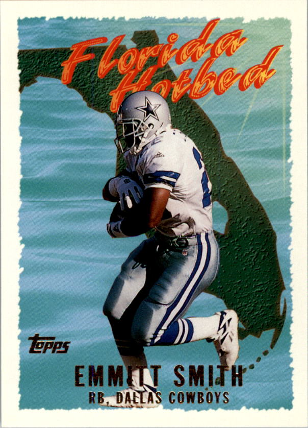 1995 Topps Florida Hot Bed #FH8 Emmitt Smith