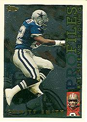 1995 Topps Profiles #1 Emmitt Smith