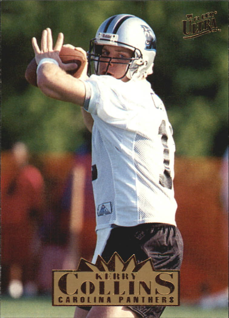 1995 Ultra #34 Kerry Collins RC
