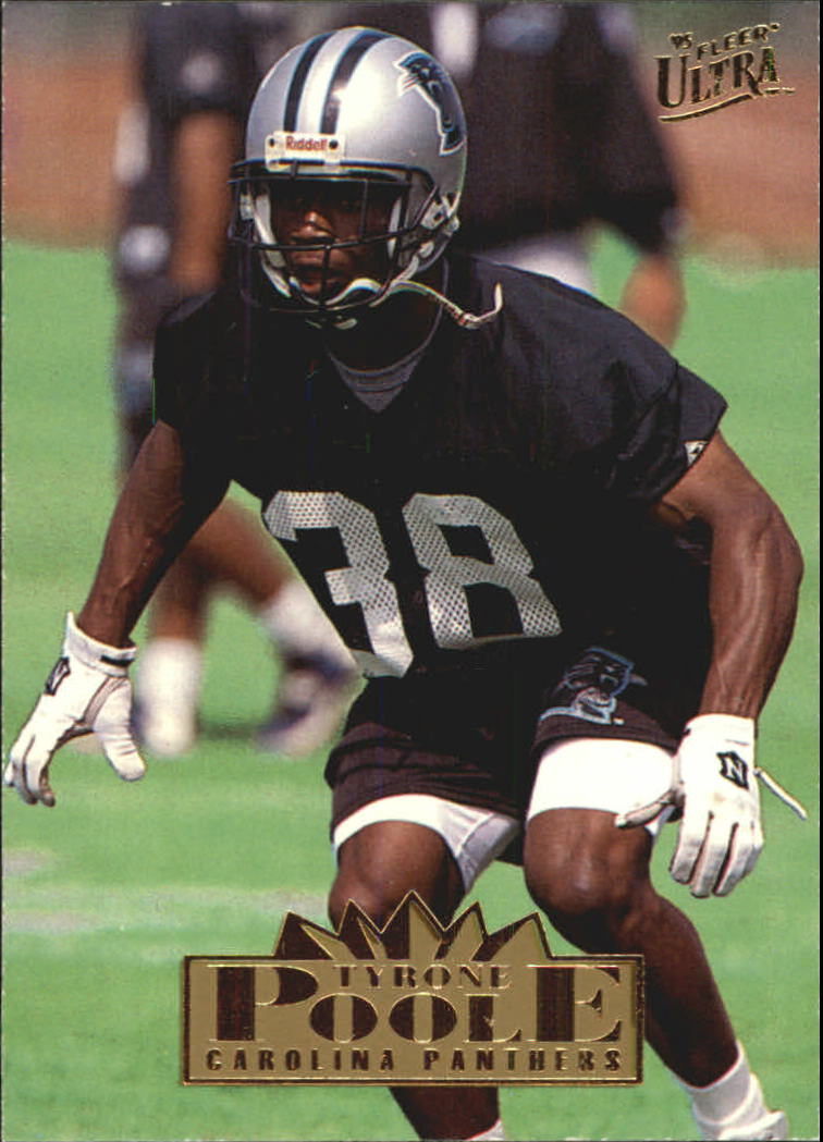 1995 Ultra #38 Tyrone Poole RC