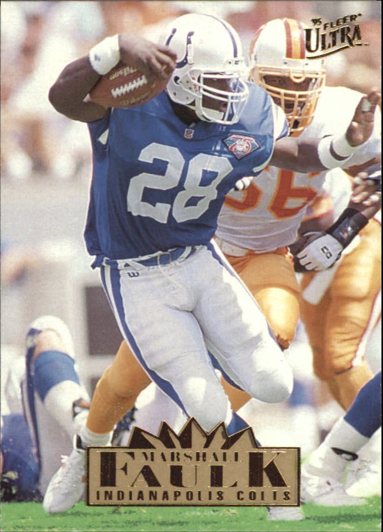 1995 Ultra #133 Marshall Faulk