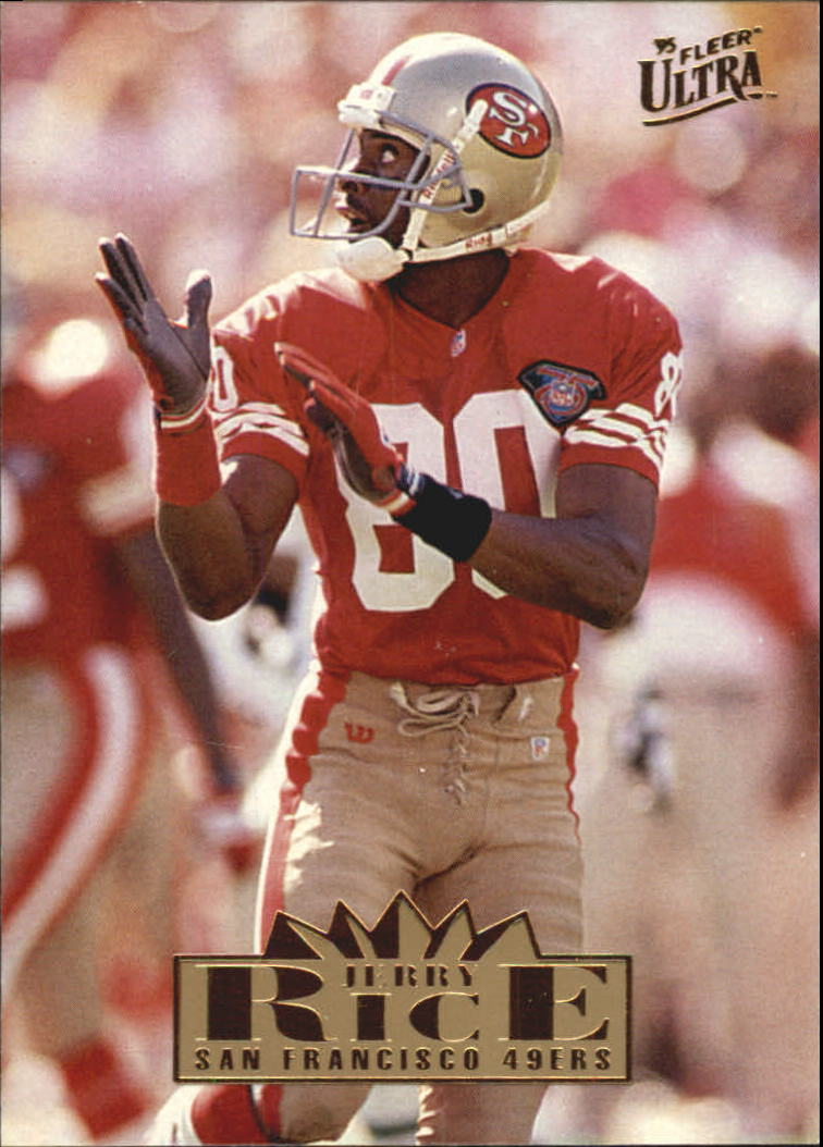 1995 Ultra #301 Jerry Rice