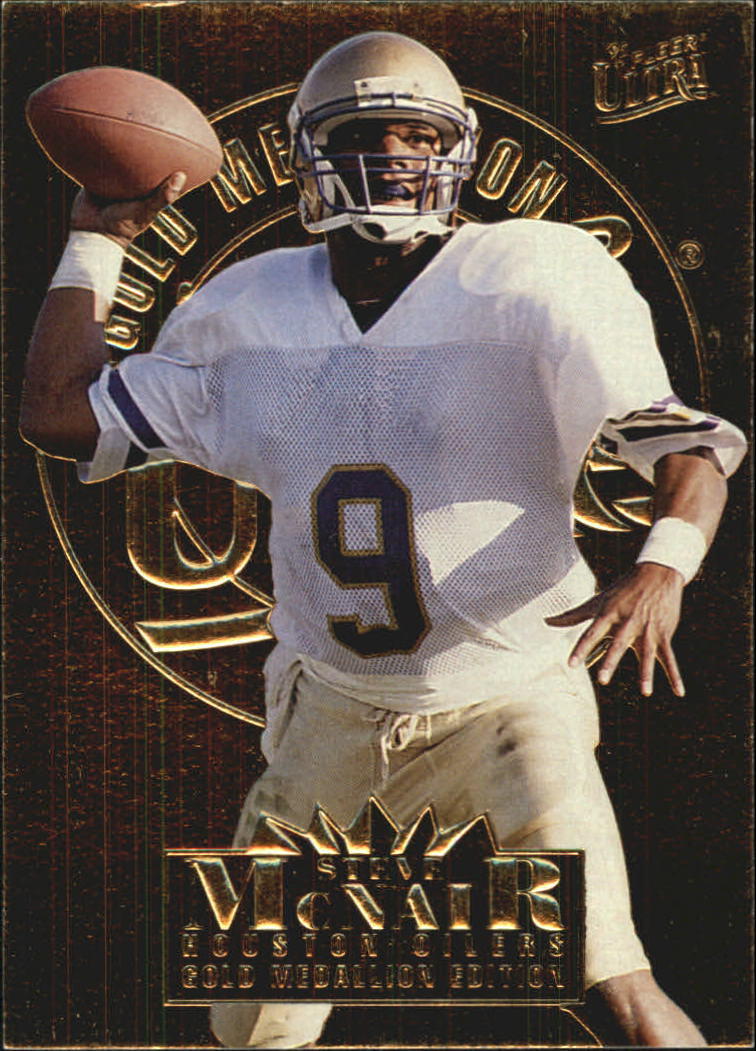 1995 Ultra Gold Medallion #125 Steve McNair