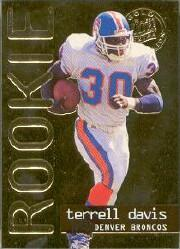 1995 Ultra Gold Medallion #430 Terrell Davis