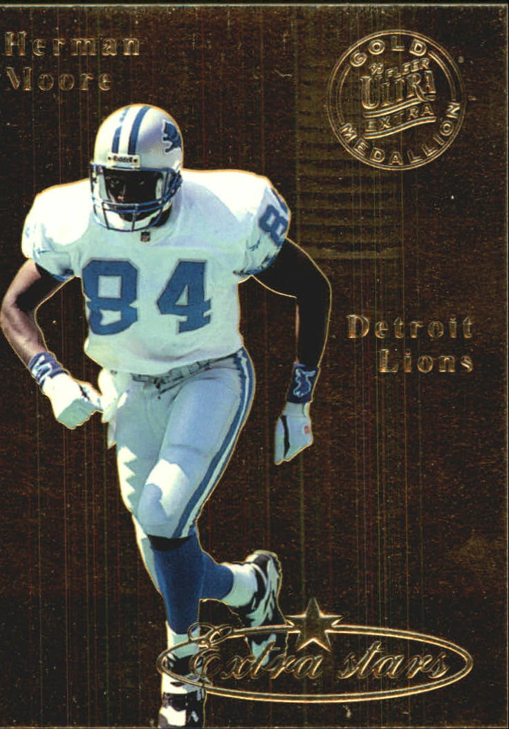1995 Ultra Gold Medallion #488 Herman Moore ES