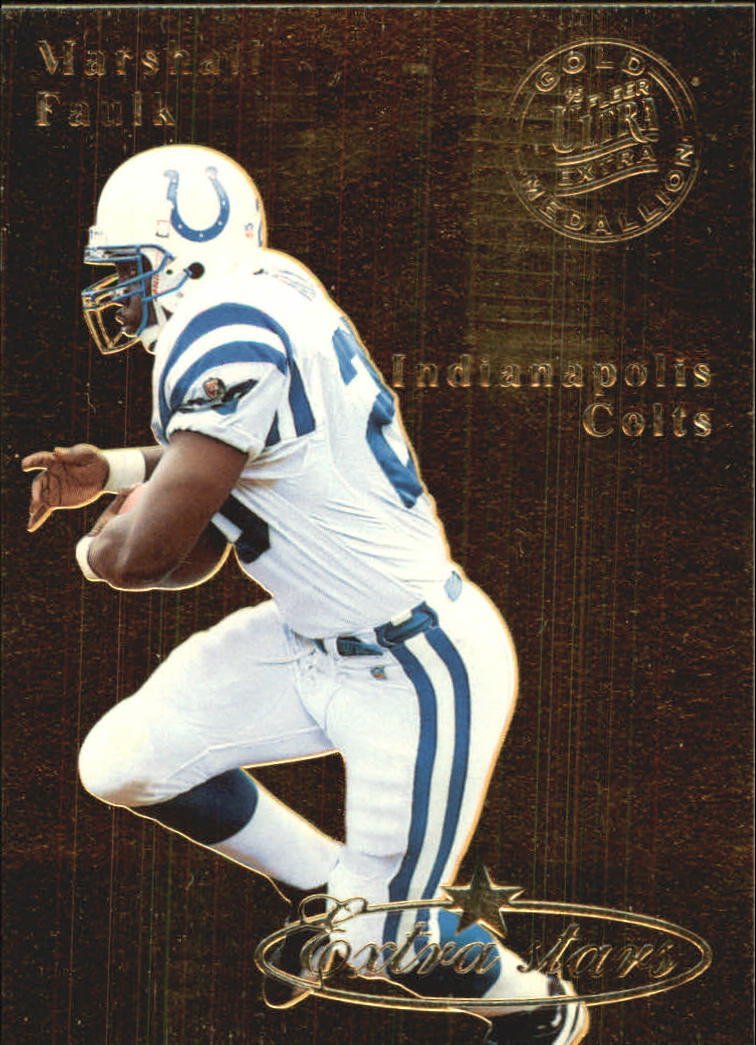 1995 Ultra Gold Medallion #494 Marshall Faulk ES