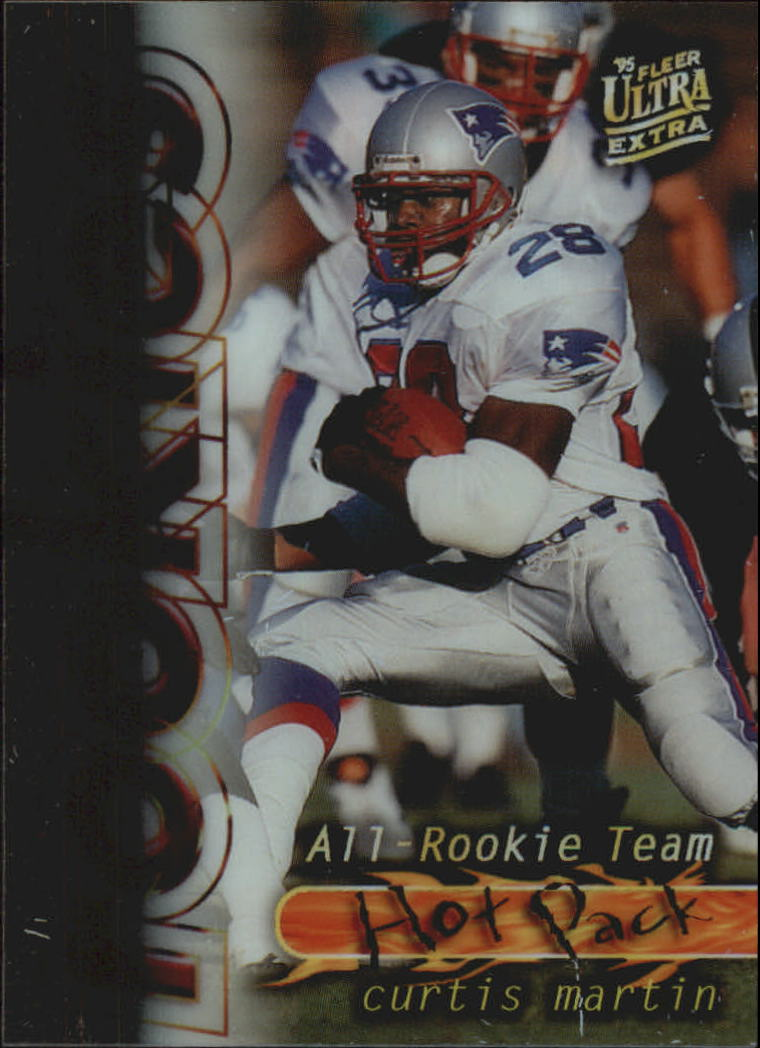 1995 Ultra All-Rookie Team Hot Pack #3 Curtis Martin