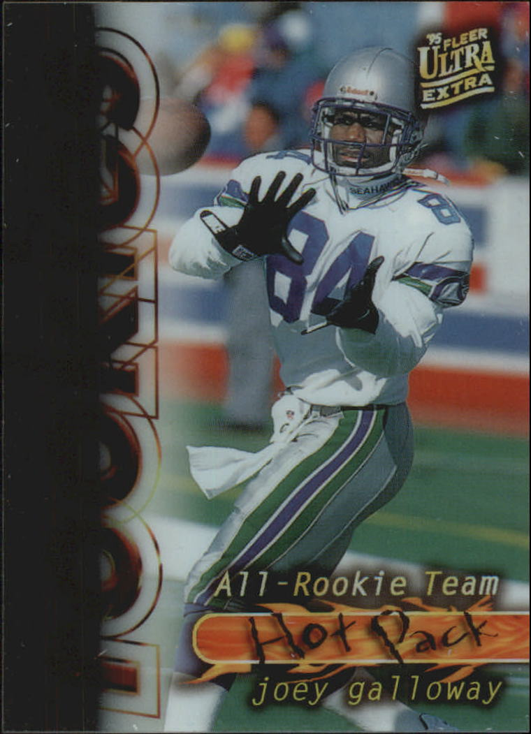 1995 Ultra All-Rookie Team Hot Pack #4 Joey Galloway