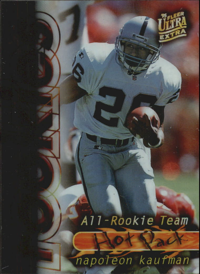 1995 Ultra All-Rookie Team Hot Pack #7 Napoleon Kaufman