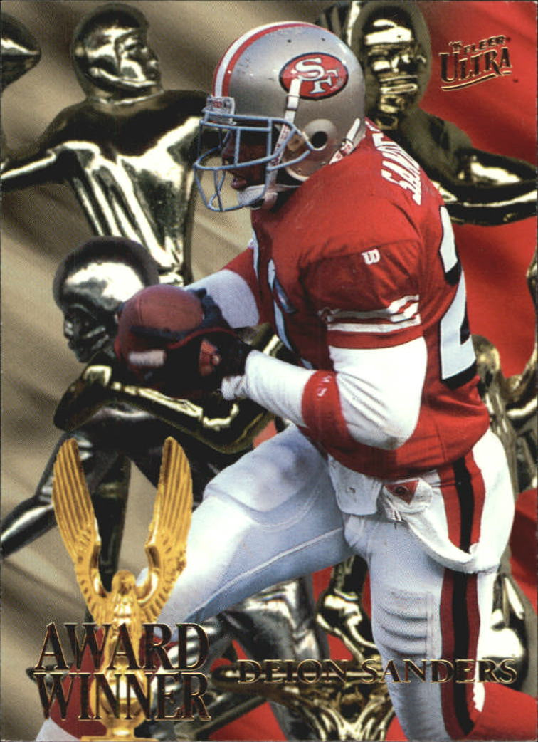 1995 Ultra Award Winners #5 Deion Sanders