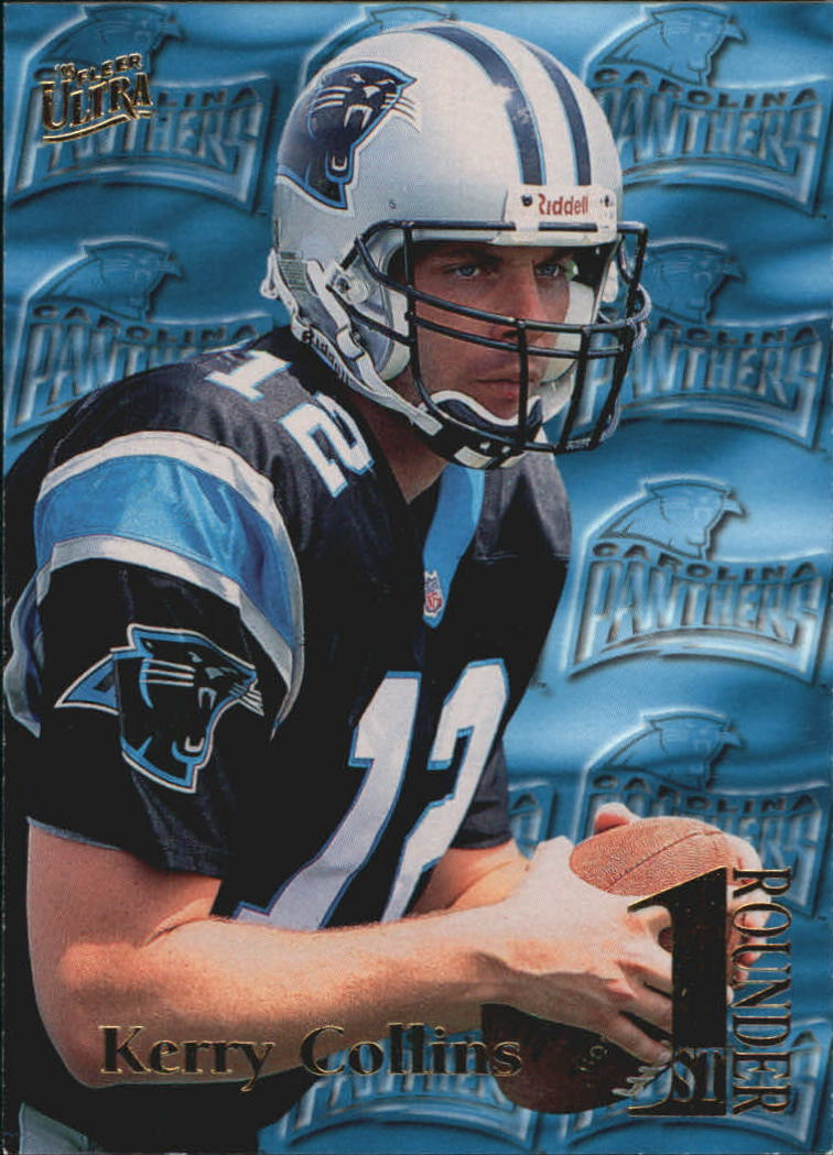 1995 Ultra First Rounders #8 Kerry Collins
