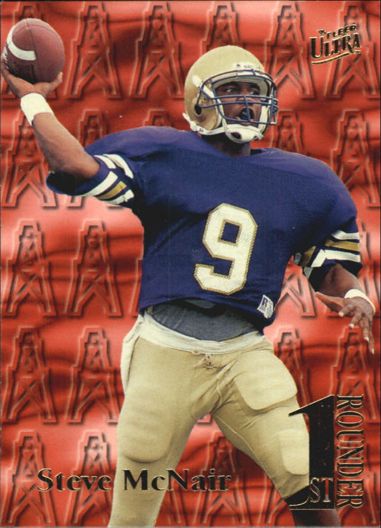 1995 Ultra First Rounders #14 Steve McNair