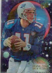 1995 Ultra Rising Stars #3 Drew Bledsoe