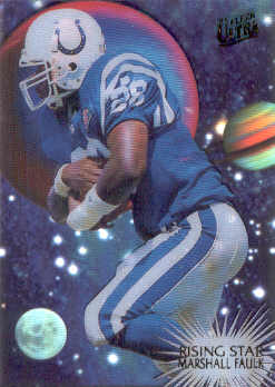 1995 Ultra Rising Stars #5 Marshall Faulk