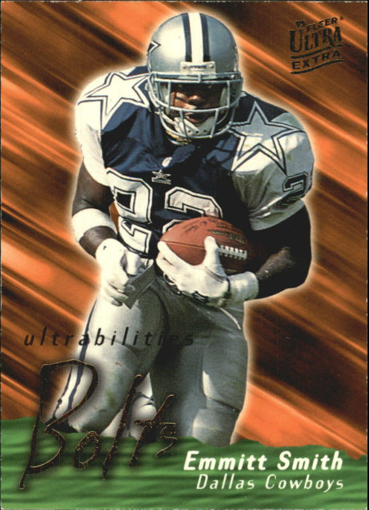 1995 Ultra Ultrabilities #13 Emmitt Smith