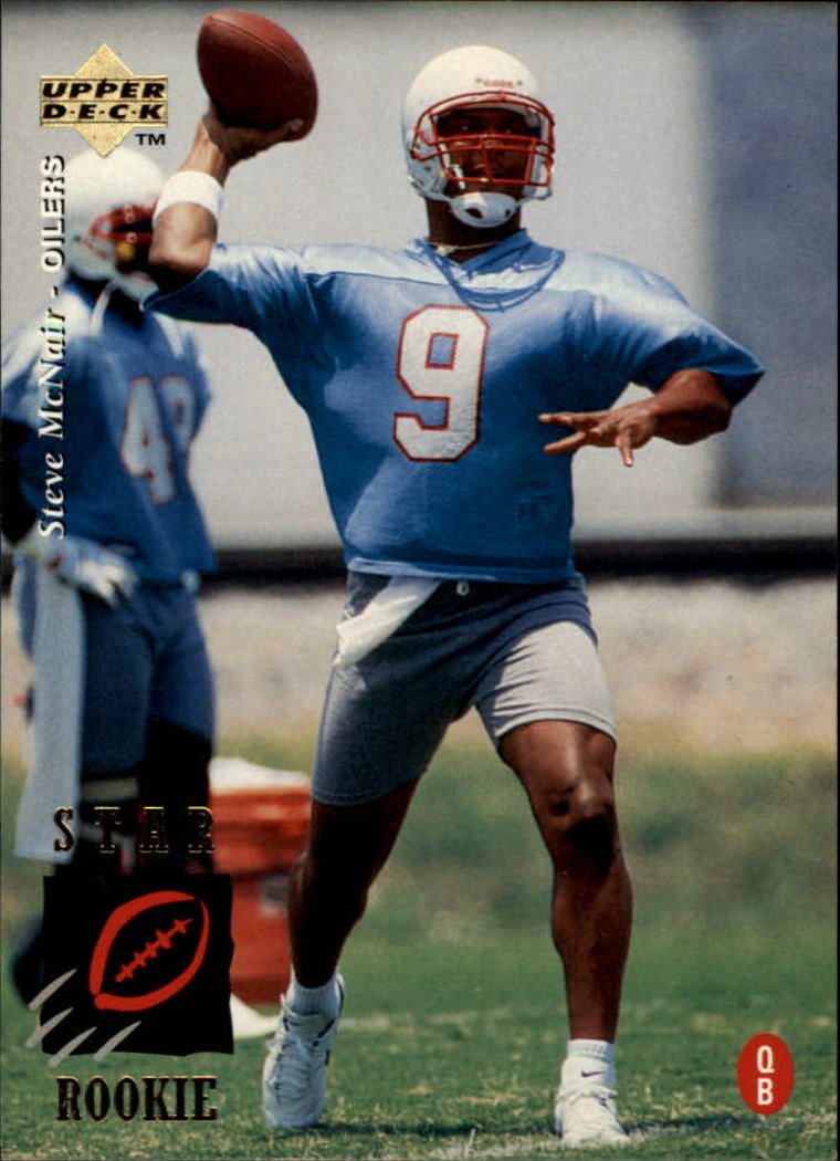 1995 Upper Deck #3 Steve McNair RC