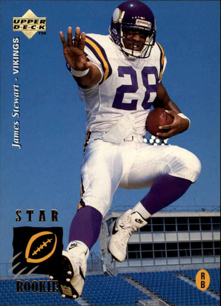 1995 Upper Deck #7 James A.Stewart RC