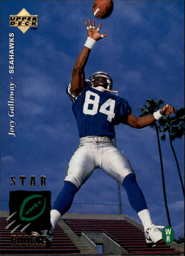 1995 Upper Deck #8 Joey Galloway RC