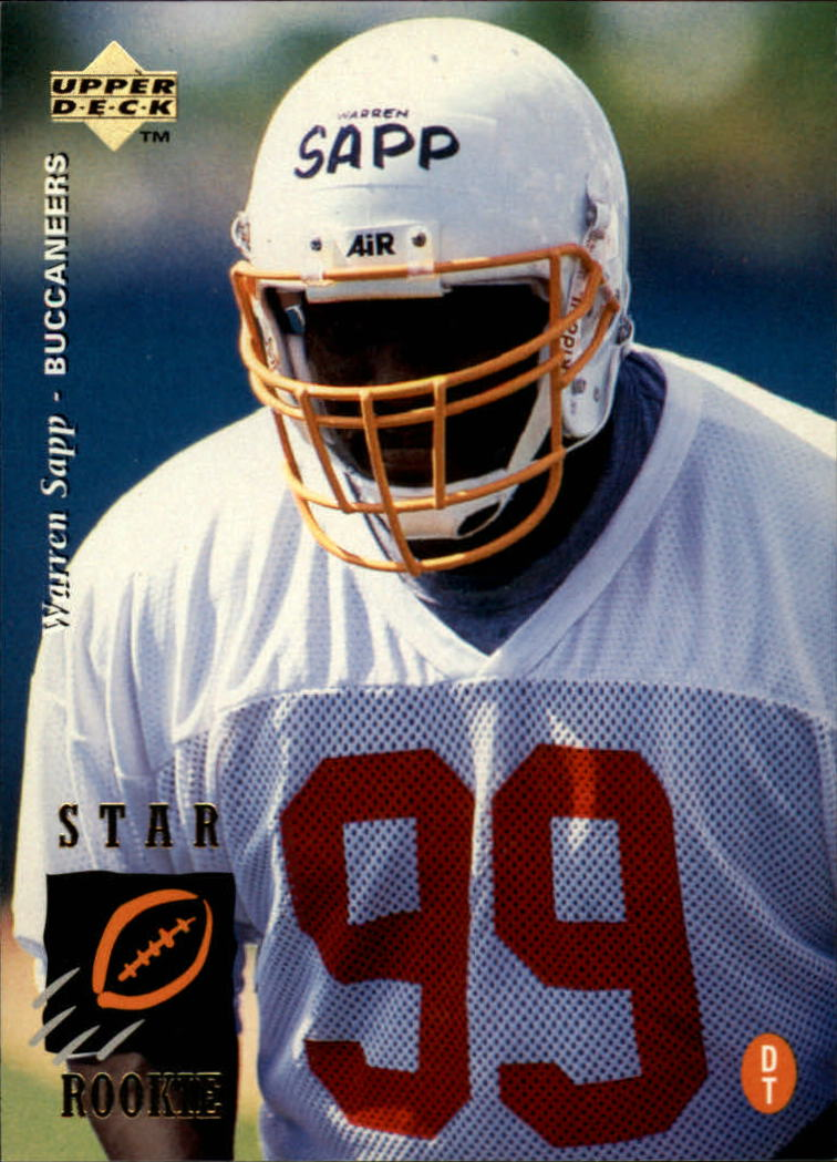 1995 Upper Deck #12 Warren Sapp RC