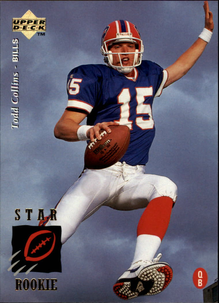 1995 Upper Deck #24 Todd Collins RC