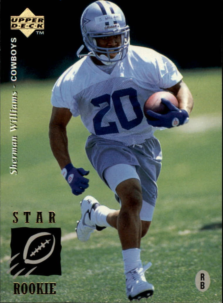 1995 Upper Deck #25 Sherman Williams RC
