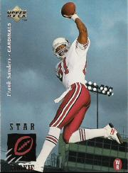 1995 Upper Deck #26 Frank Sanders RC