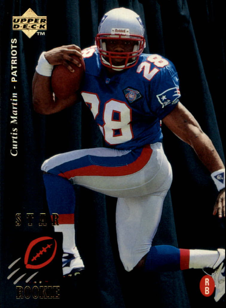 1995 Upper Deck #30 Curtis Martin RC