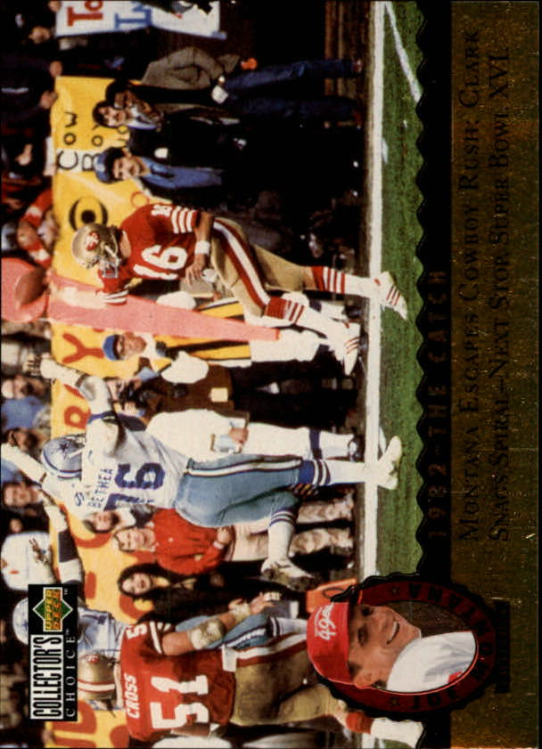 1995 Upper Deck Joe Montana Trilogy #MT4 Joe Montana