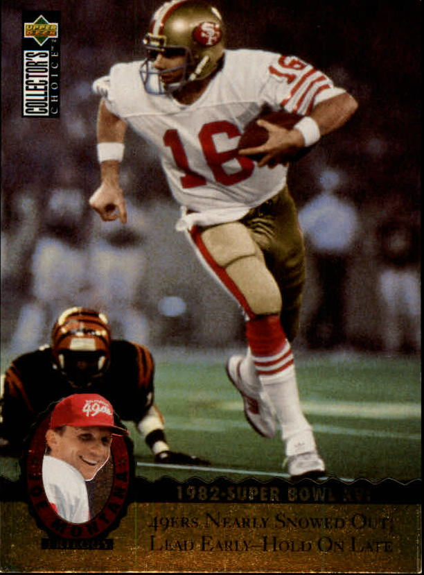 1995 Upper Deck Joe Montana Trilogy #MT5 Joe Montana