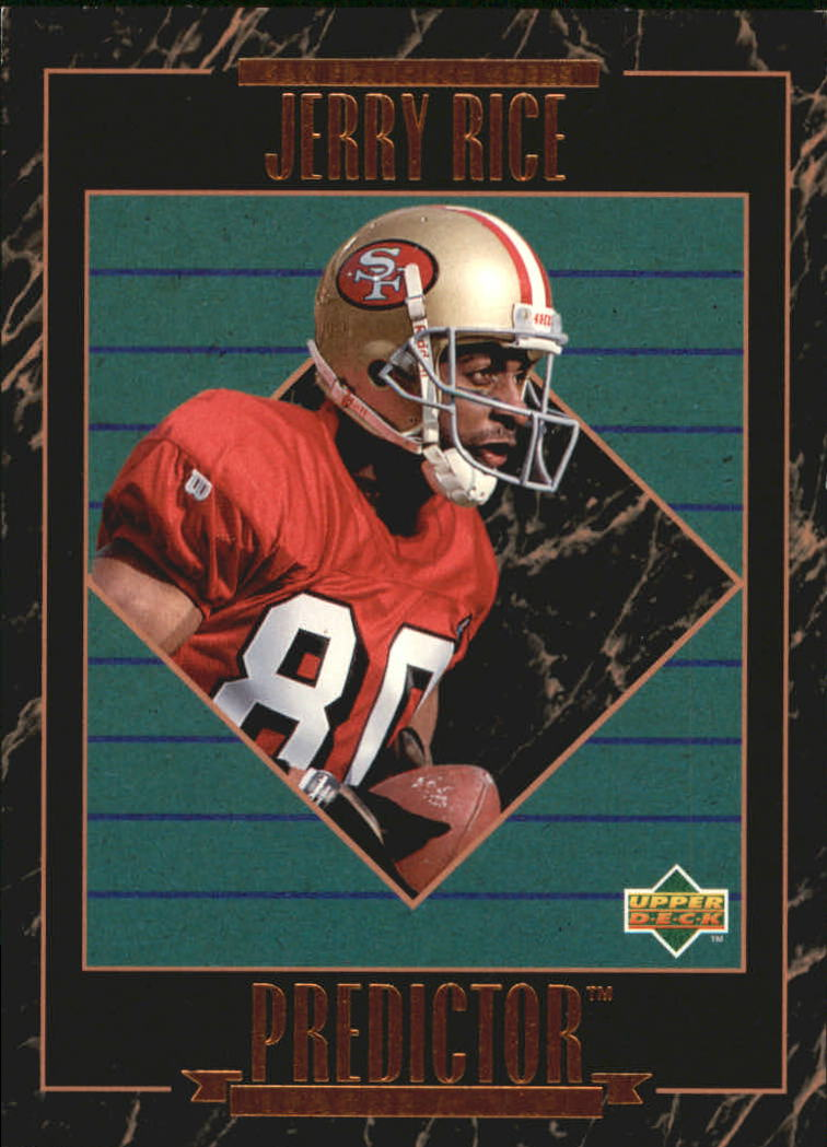 1995 Upper Deck Predictor Award Winners #HP7 Jerry Rice W2