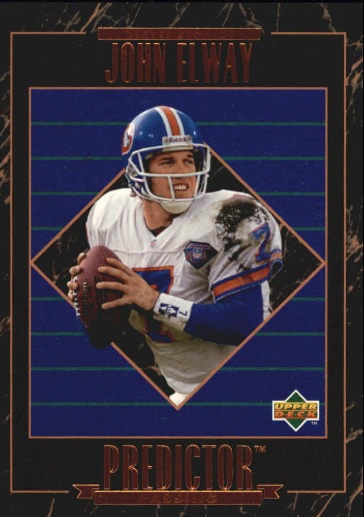 1995 Upper Deck Predictor League Leaders #RP5 John Elway
