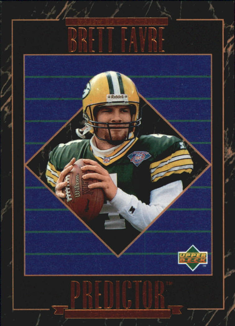 1995 Upper Deck Predictor League Leaders #RP6 Brett Favre W2