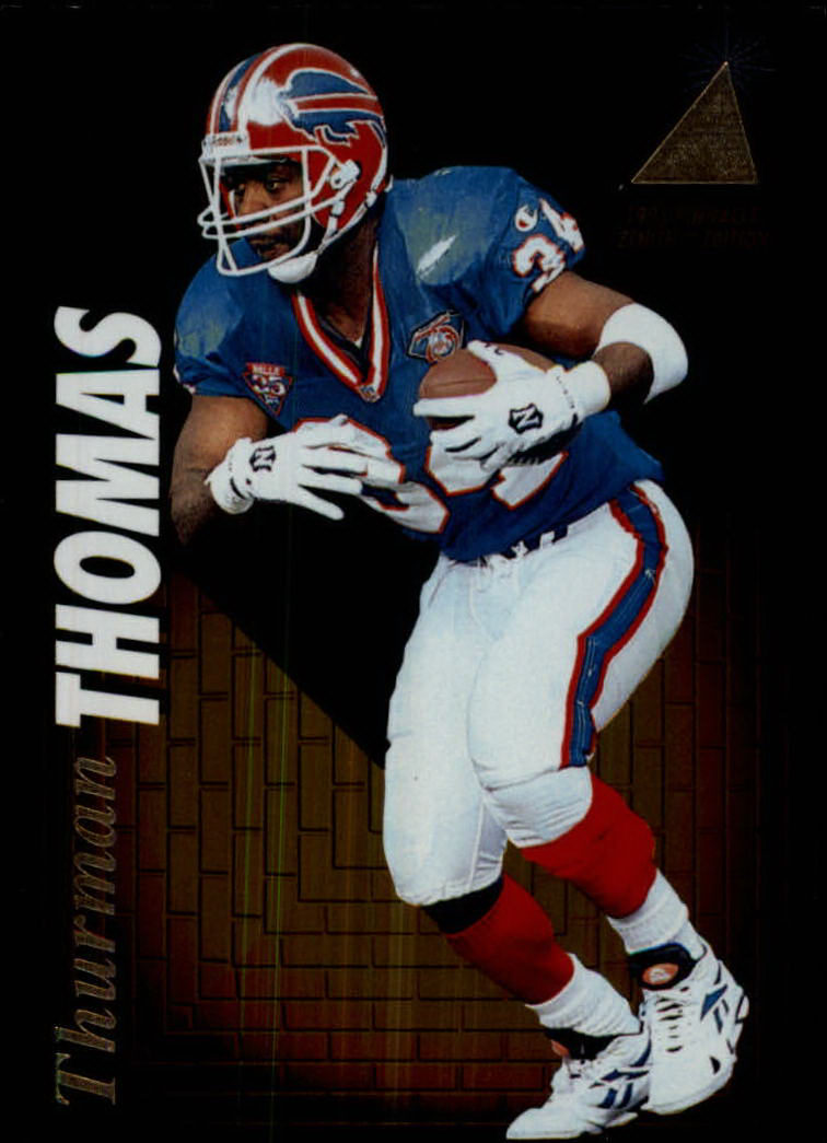 1995 Zenith #Z71 Thurman Thomas