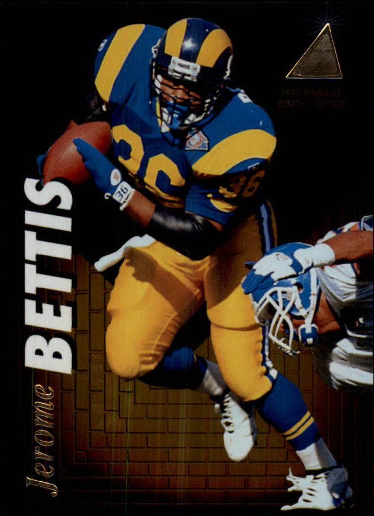 1995 Zenith #Z106 Jerome Bettis